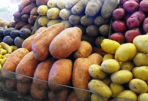 potatoes at The West Side Market, Cleveland