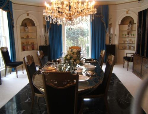 Graceland formal dining room