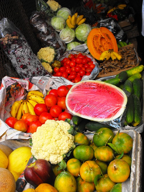 Charles Gordon Market produce