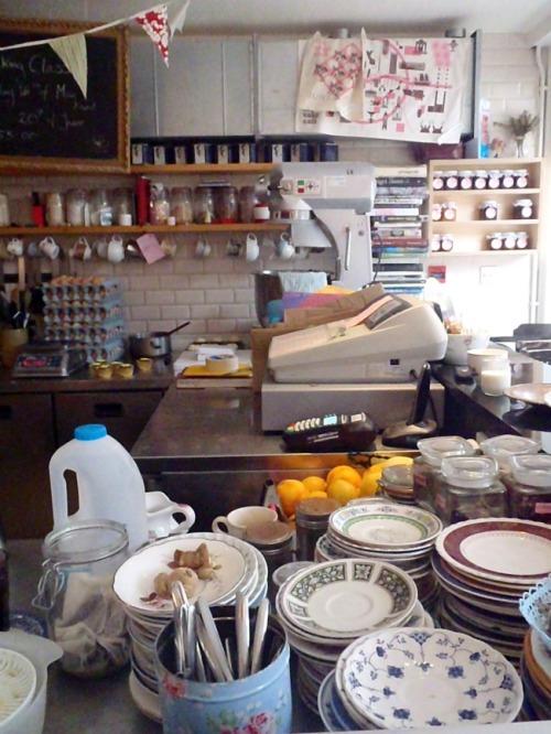 Dublin - Cake Cafe kitchen