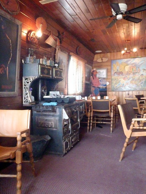 Alberta - Chuckwagon Cafe interior