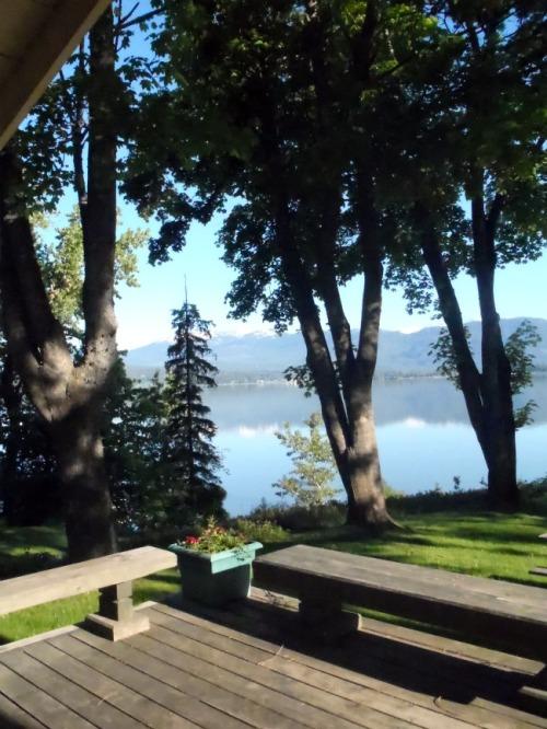 Idaho - Sleep's Cabins morning view