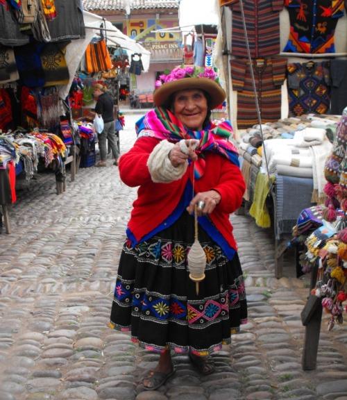 Peru - Sacred Valley beautiful lady