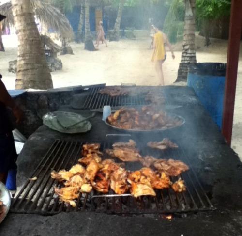 Dominican Republic  - Saona Island grill