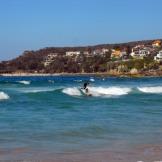 Australia - surfer at Manly Beach