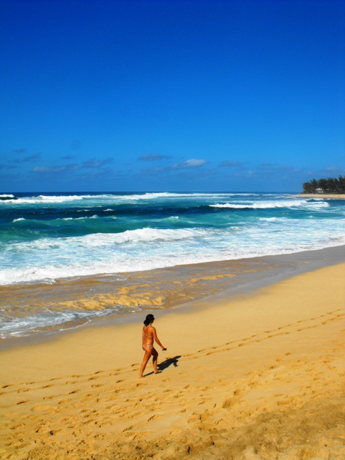 Hawaii - Oahu's Sunset Beach