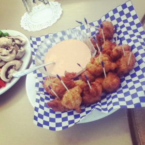 Turks & Caicos - Seaside Cafe conch fritters