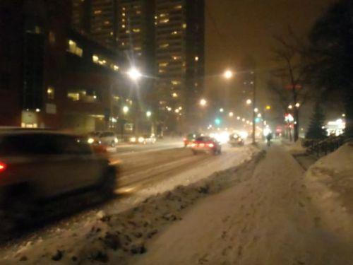 Toronto - snowy street