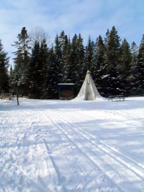 Quebec - Tremblant teepee