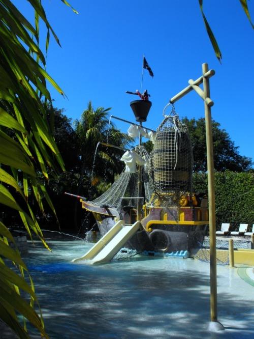Florida - Hawks Cay pirate ship