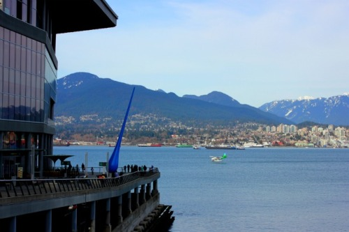 Vancouver - seaplane landing