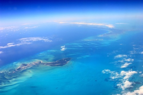 Bahamas - from above