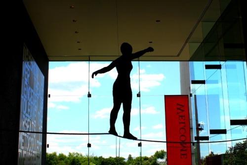 Pittsburgh - Carnegie sculpture