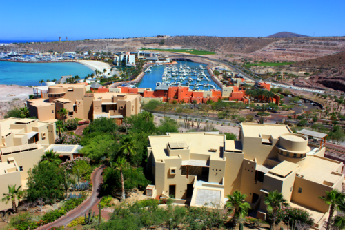 Mexico - Costa Baja Resort from above