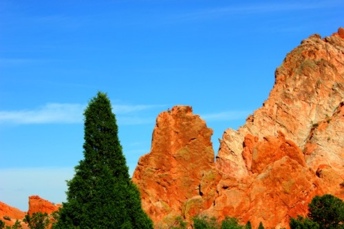 Colorado - Garden of the Gods & climber