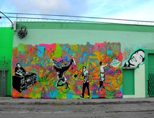 Miami - Wynwood Arts District music notes