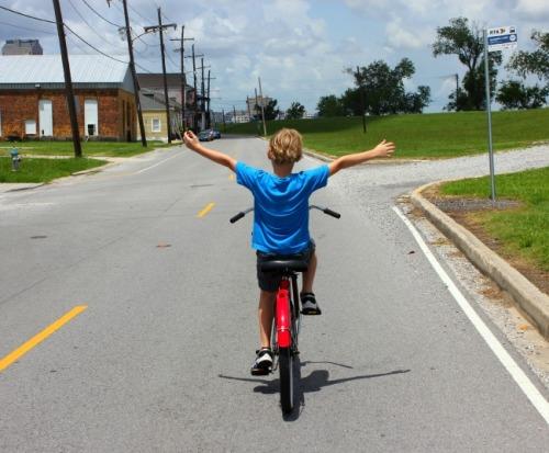 New Orleans - biking