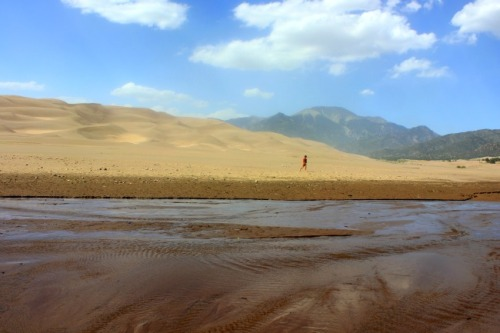 Colorado - Great Sand Dunes National Park creek