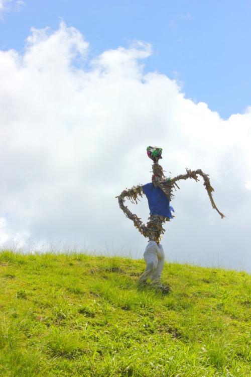 Grenada scarecrow