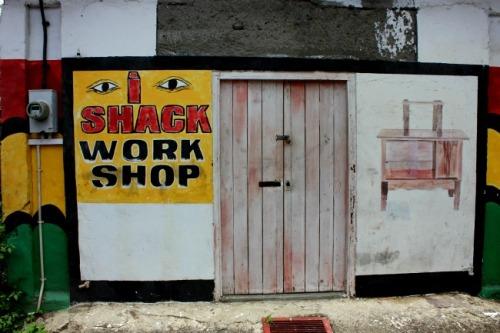 Grenada - Shack work shop