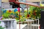 Grenada - painted garden