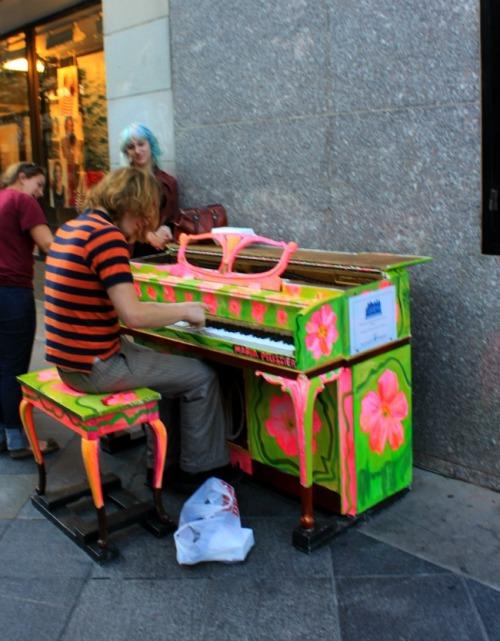 Colorado - Denver - street piano