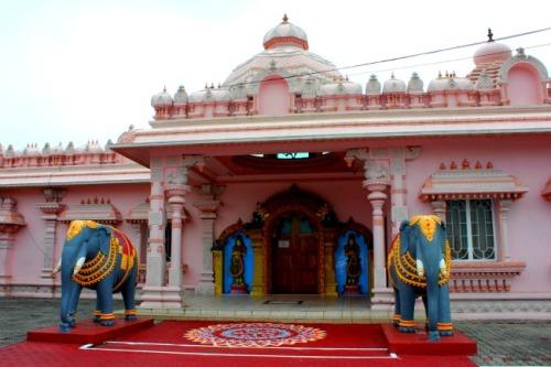 Trinidad - Hindu pink temple