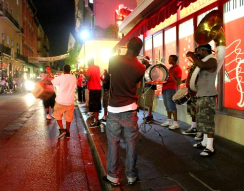 New Orleans - street band
