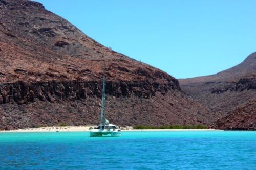 Mexico - Sea of Cortes sailboat