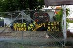 New Orleans - drive thru art gallery