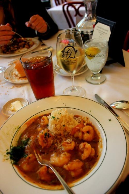 New Orleans - Galatoire's shrimp etouffee