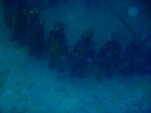 Grenada - underwater sculpture by Jason deCaires Taylor