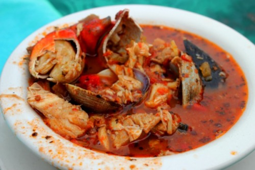 California - Tognazzini's fish soup