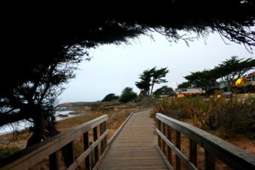 California - Moonstone Beach pathway