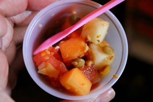California - Chef Feniger's melon salad