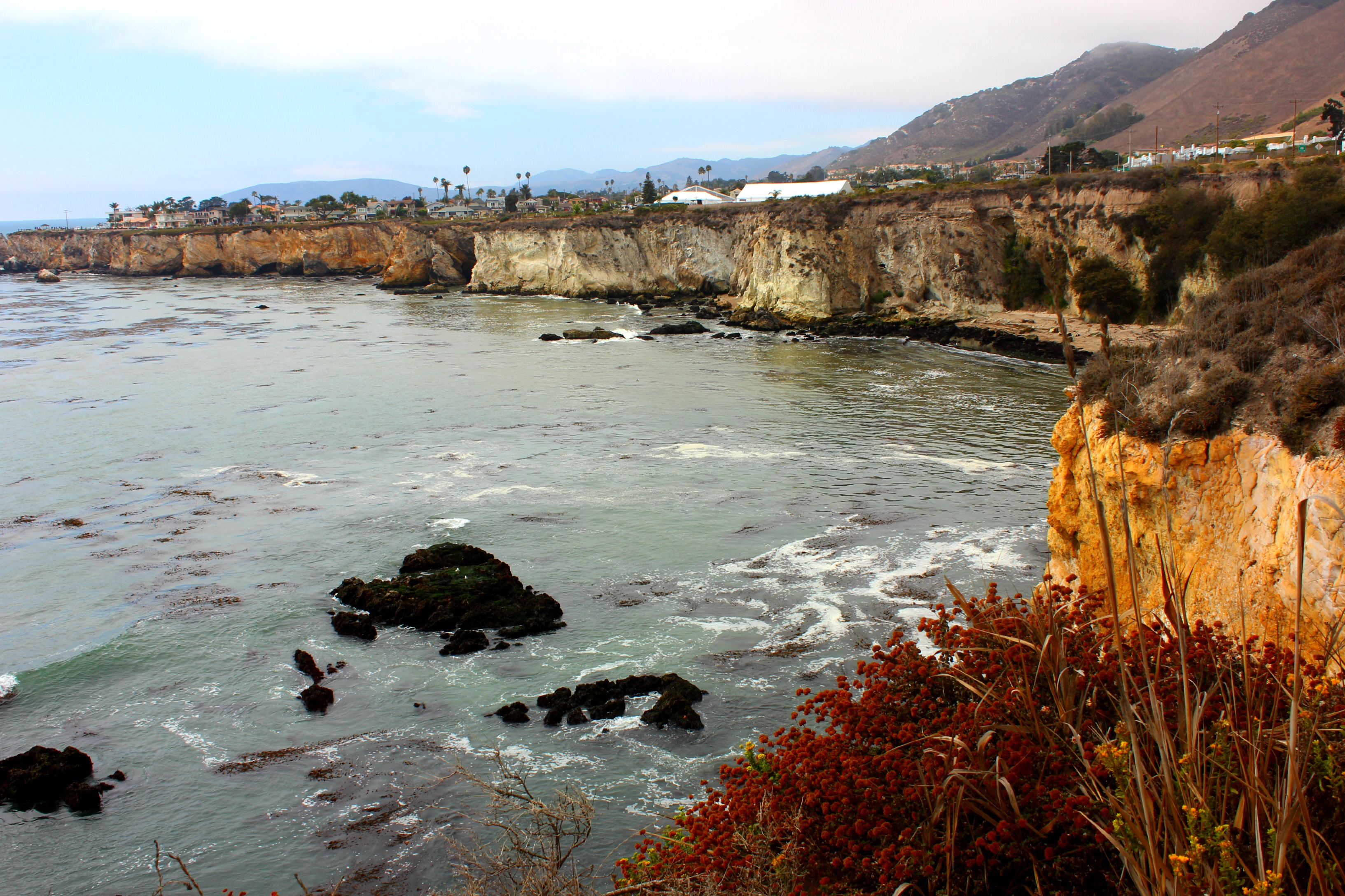 Afternoon delight: the cliffs of Pismo Beach, CA USA | Gone