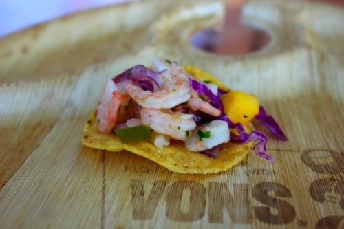 California - shrimp salsa
