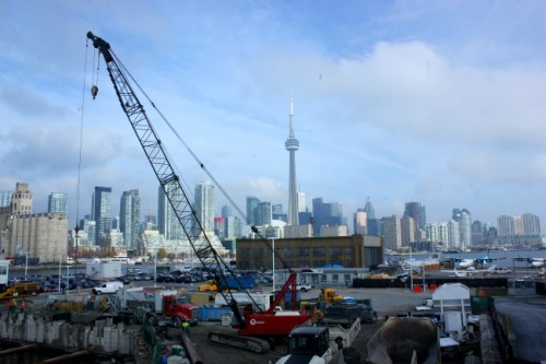 Toronto - skyline from Billy Bishop