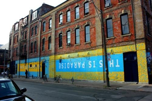 Toronto - Cameron House mural