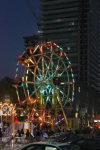 Toronto - Distillery District ferris wheel