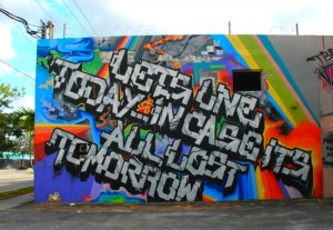 Florida - Miami's Wynwood Arts District: lets one