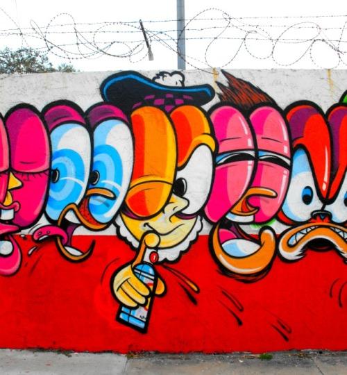 Florida - Miami Wynwood Arts District painter