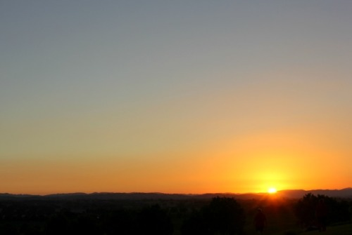 California - Paso Robles sunset