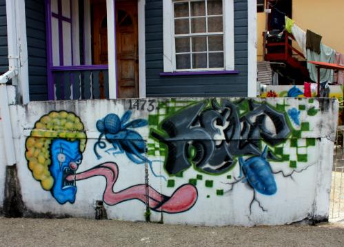 Grenada graffiti