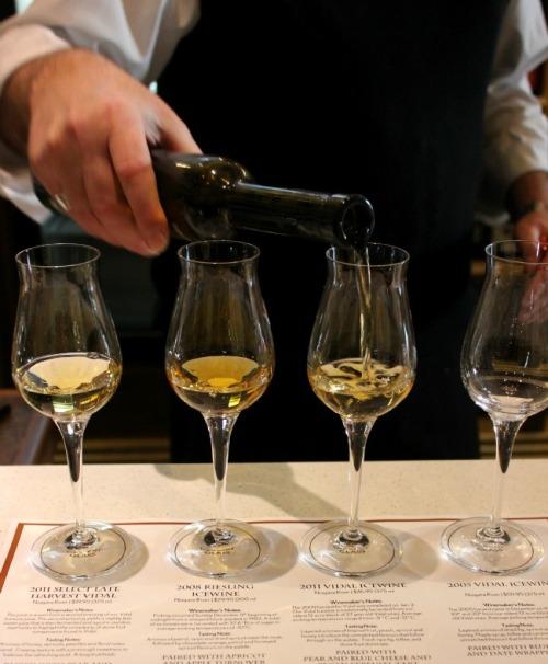 ice wine glasses