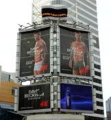 Beckham billboard