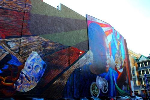 Philadelphia - Legacy mural