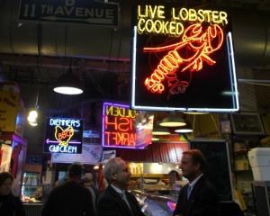 Philadelphia - Reading Terminal Market Lobster sign