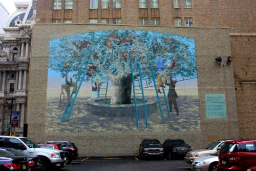 Philadelphia - Tree of knowledge mural