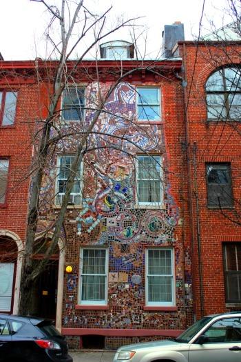 Philadelphia - Zagar mosaic house